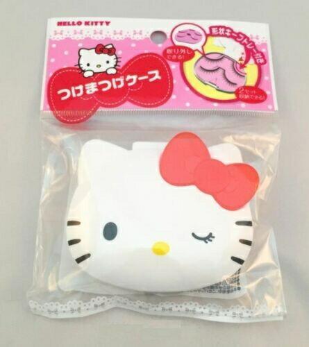 X射線【C231265】Hello Kitty 假睫毛膠水收納盒,藥盒/收納盒/飾品盒/隨身小物盒