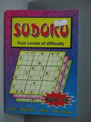 【書寶二手書T2/嗜好_MKA】A Sudoku Book_W F Graham