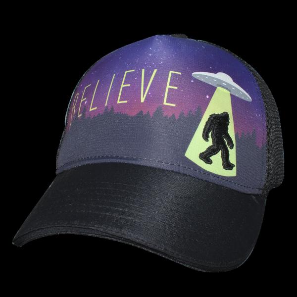 騎跑泳者-HEADSWEATS汗淂(全球運動帽領導品牌)AlienFoot5-Panel網帽運動帽