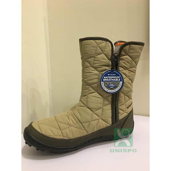 《台南悠活運動家》COLUMBIA UBL15970 防水保暖雪靴-米白