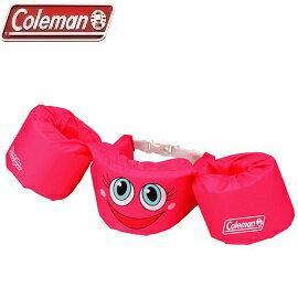 [ Coleman ]  手臂型浮力衣 粉紅笑臉 / Puddle Jumper 游泳圈 / 公司貨 CM-28542