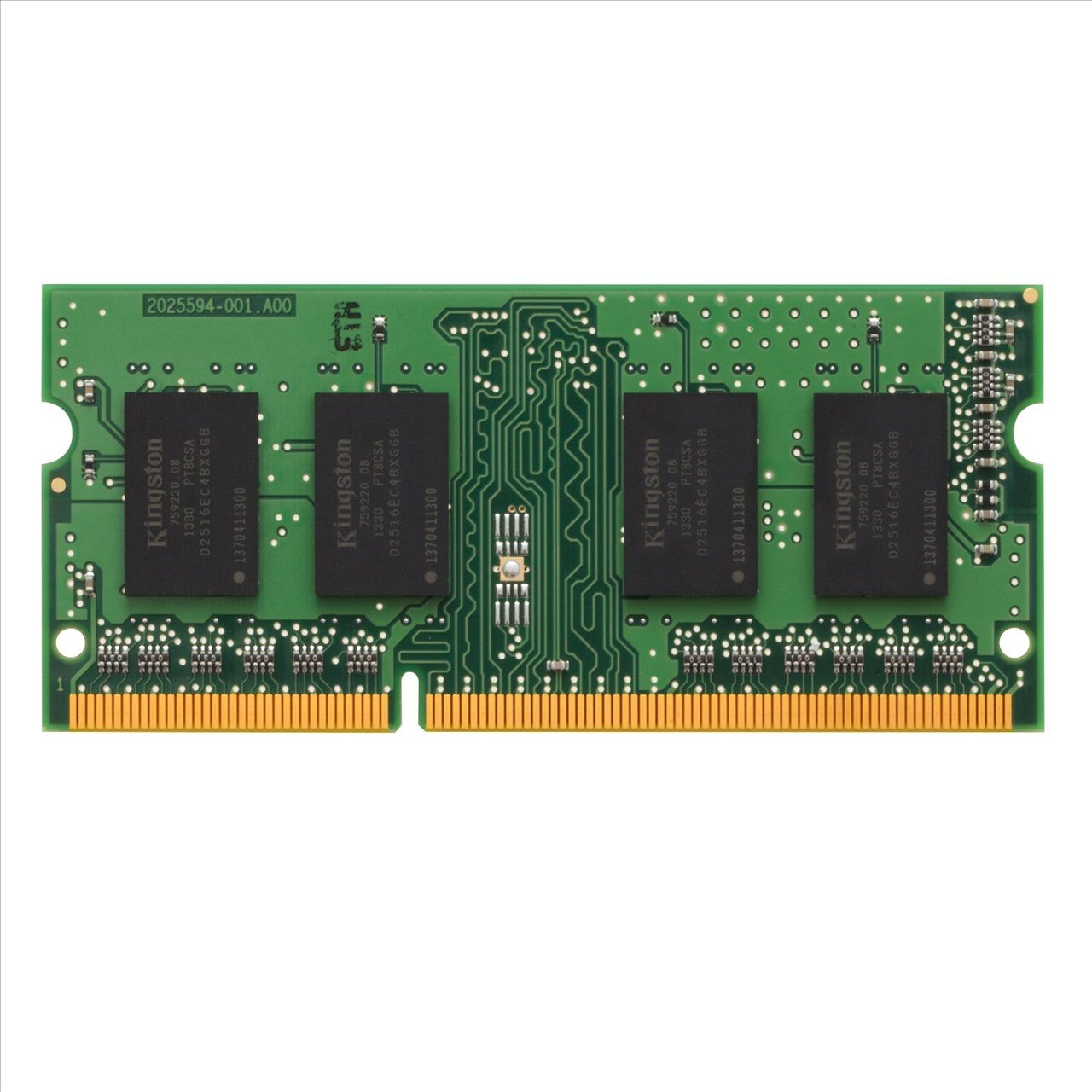 *╯新風尚潮流╭*金士頓筆記型記憶體 4G 4GB DDR3-1333 終身保固 KVR13S9S8/4