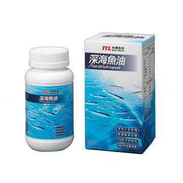 台酒生技 深海魚油Fish Oil Soft Capsule 60粒