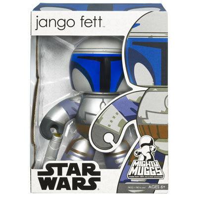【Playwoods】《公仔模型王》[StarWars/星際大戰/星球大戰]Mighty Muggs-獎金獵人強格費特 Jango Fett