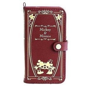 日本直送 iPhone6 Plus 迪士尼 disney Mickey&Minnie Mouse 米老鼠 米奇&米妮 手機保護皮套 (紅色款)