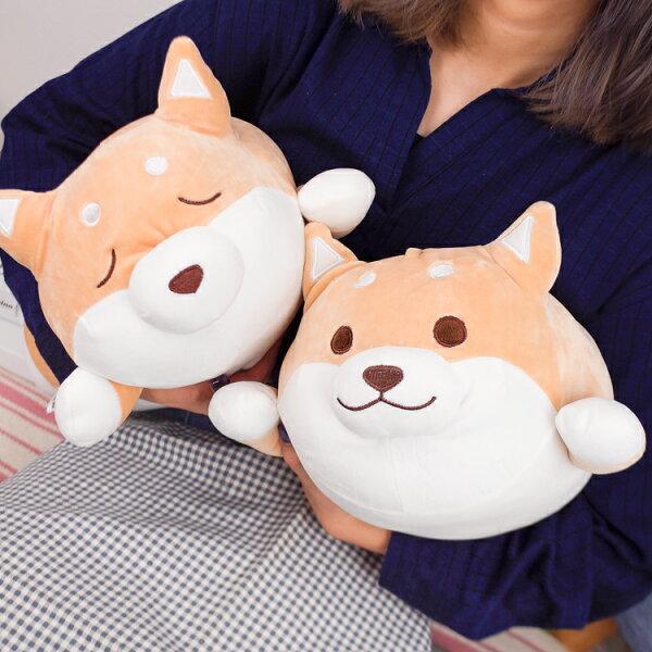PGS7柴犬系列商品-胖嘟嘟可愛柴犬娃娃絨毛玩偶大號【SJZ80173】