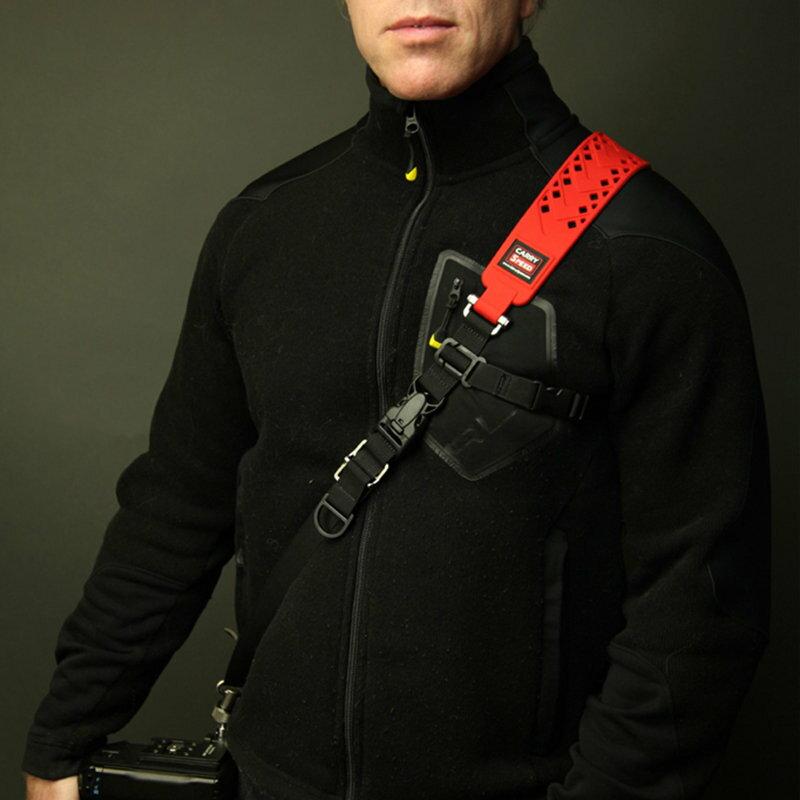 CameraPro相機專家 ◎相機專家◎ CARRY SPEED 速必達 Prime Extreme 單肩快取減壓背帶 黑色/ 紅色 最新款 公司貨