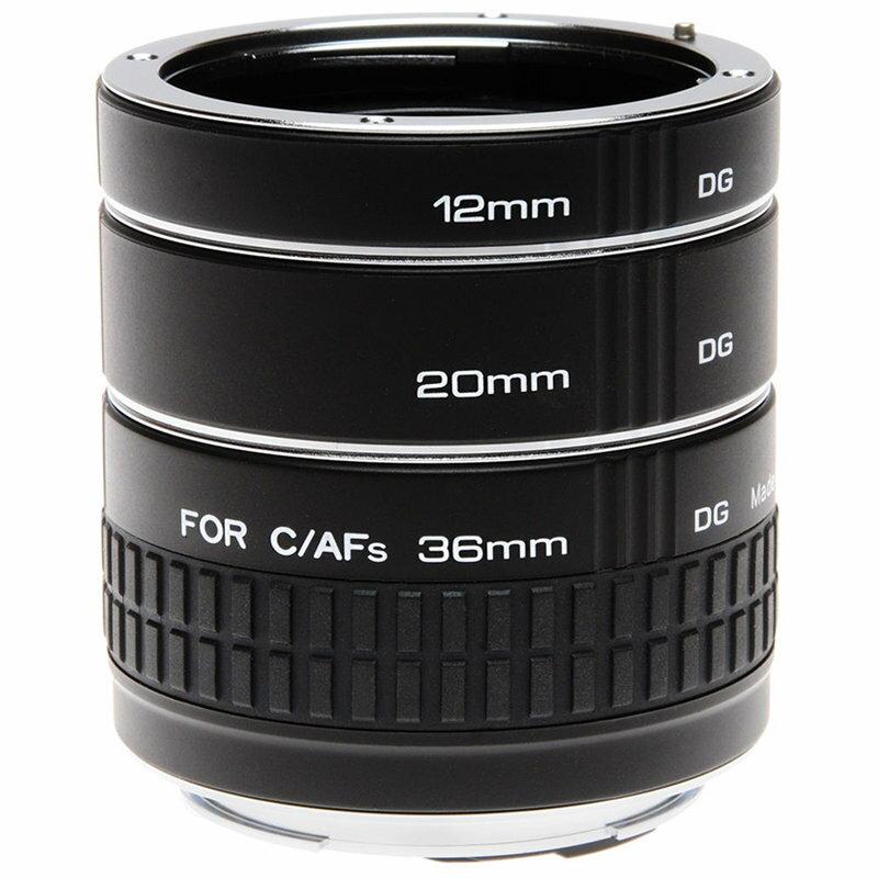 ◎相機專家◎ Kenko EXTENSION TUBE SET DG 接寫環 for Nikon 正成公司貨