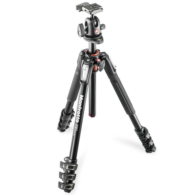◎相機專家◎ Manfrotto MK190XPRO4-BH 鎂鋁合金三腳架套組(496RC2) 送190腳架袋 正成公司貨