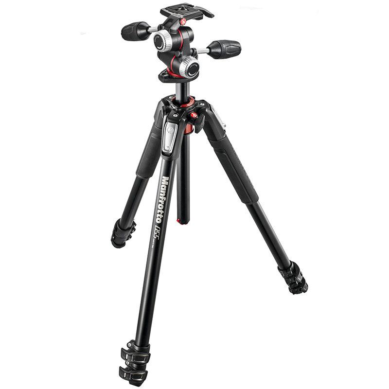 ◎相機專家◎ Manfrotto MK055XPRO3-3W 鎂鋁合金三腳架套組(MHXPRO-3W) 送055腳架袋 正成公司貨