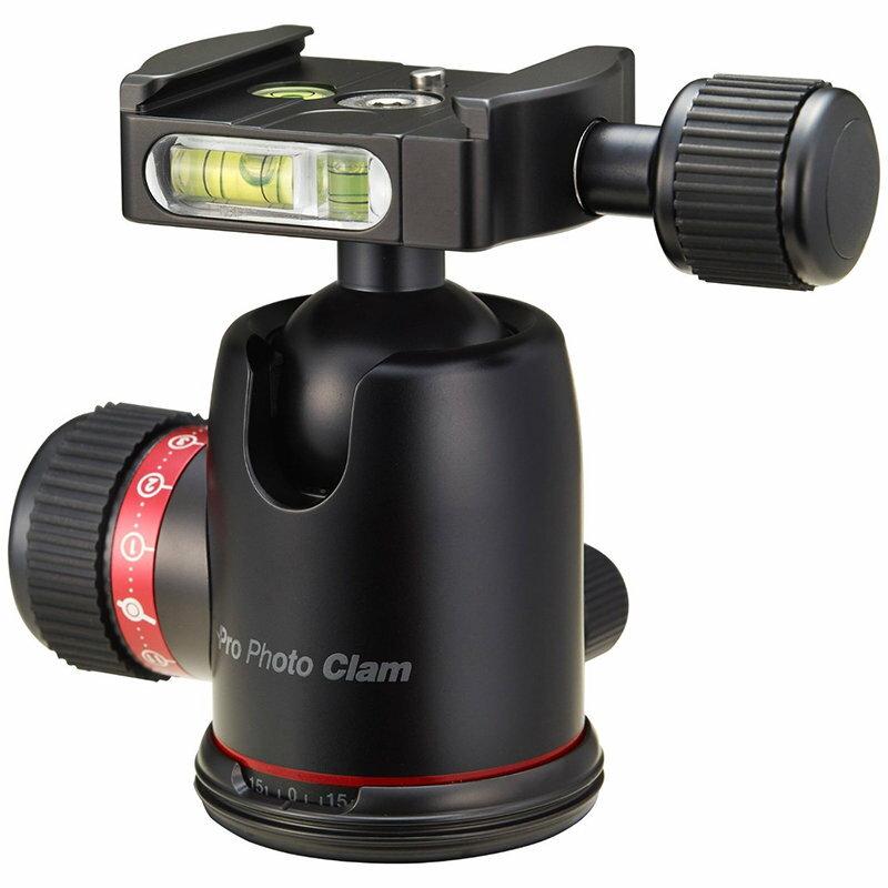 ◎相機專家◎ Photo Clam PRO-30NS 阻尼可調球型雲台 捷新公司貨