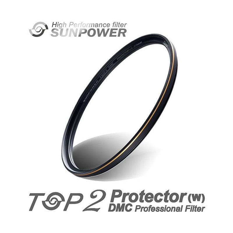 ◎相機專家◎ SUNPOWER TOP2 DMC PROTECTOR 52mm UV 超薄多層膜保護鏡 湧蓮公司貨