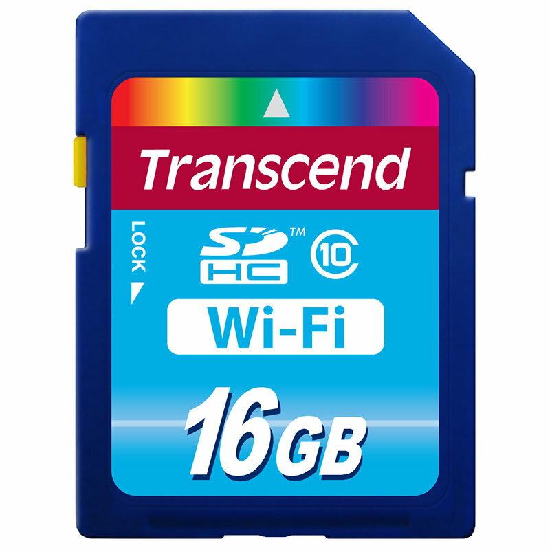 ◎相機專家◎ Transcend 創見 16G WiFi SDHC C10 16GB SD 送原廠讀卡機 公司貨終身保固