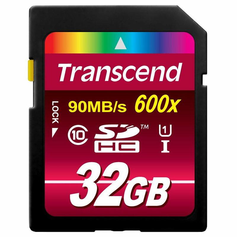 ◎相機專家◎ Transcend 創見 32G SDHC 600X UHS-I 90MB/s 32GB 公司貨終身保固