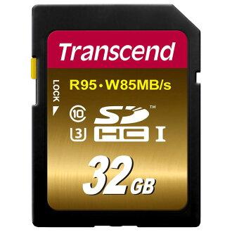 ◎相機專家◎ Transcend 創見 32G SDXC UHS-I U3 (95/85) 32GB 公司貨終身保固