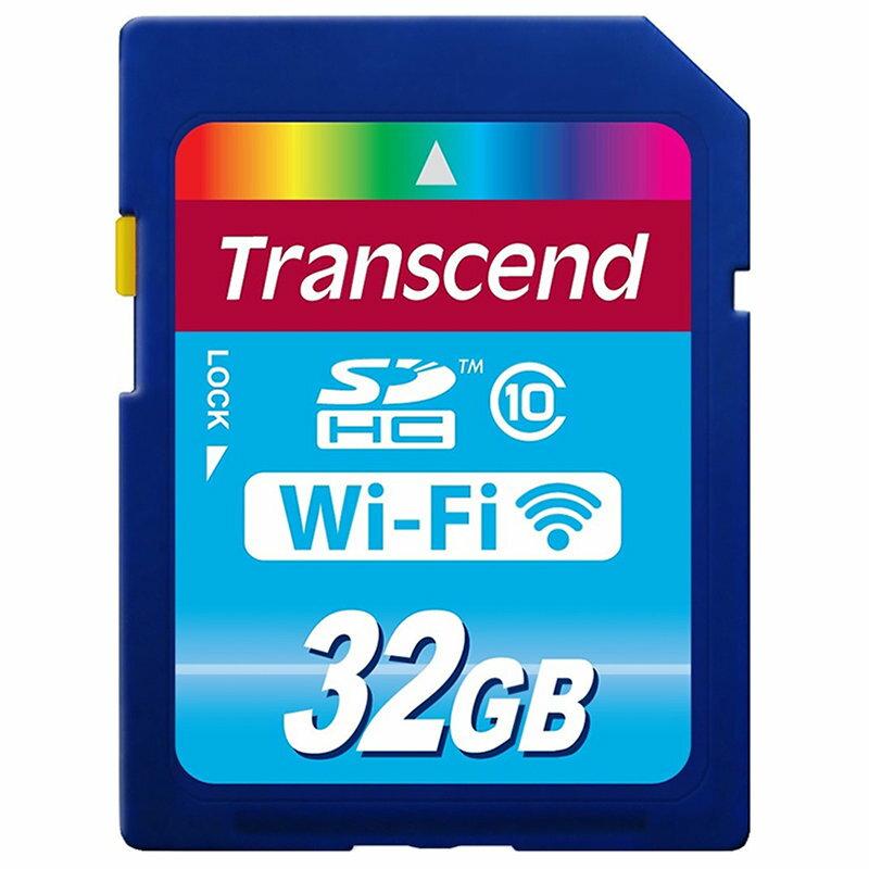 ◎相機專家◎ Transcend 創見 32G WiFi SDHC C10 32GB SD 送原廠讀卡機 公司貨終身保固