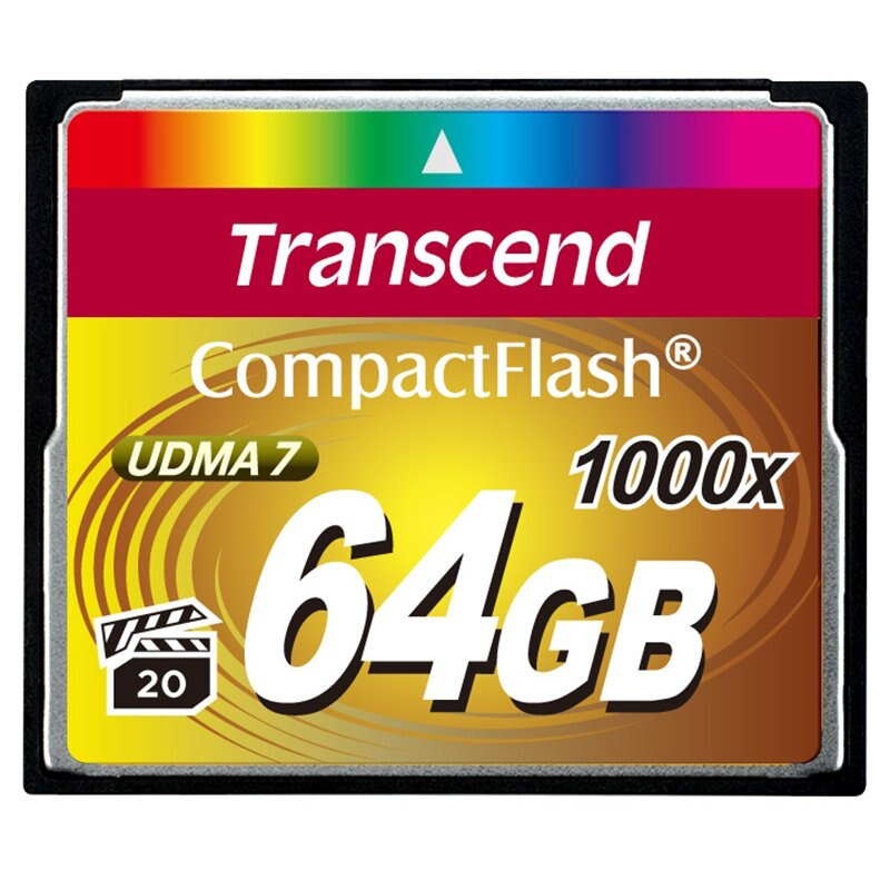 ◎相機專家◎ Transcend 創見 64G CF 1000X 64GB 支援4K錄影 公司貨終身保固