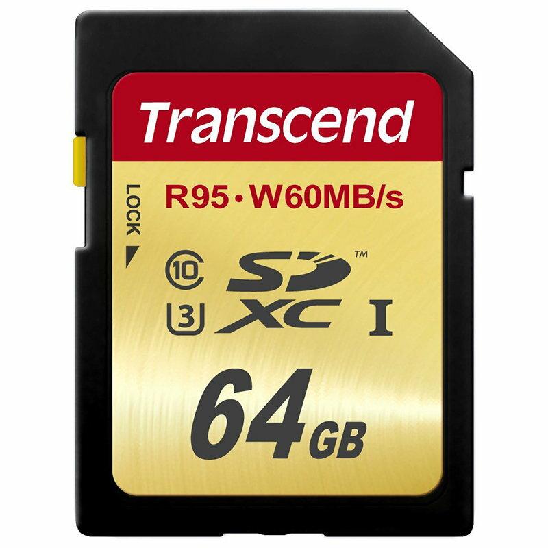 ◎相機專家◎ Transcend 創見 64G SDXC UHS-I U3 (95/60) 64GB 公司貨終身保固