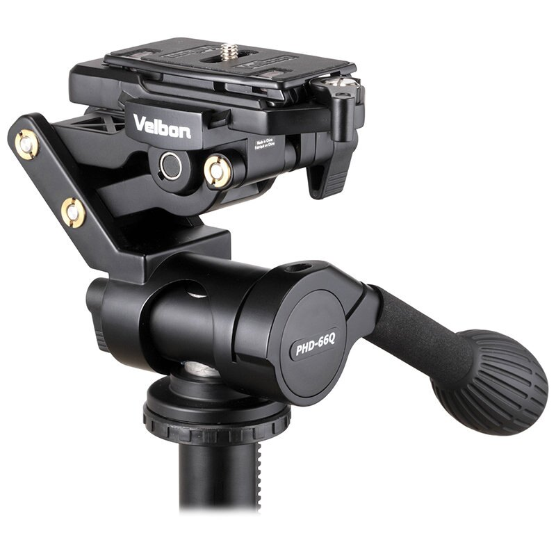 ◎相機專家◎ Velbon PHD-66Q 三向雲台 2015年最新款 超輕量化 水平微調 公司貨
