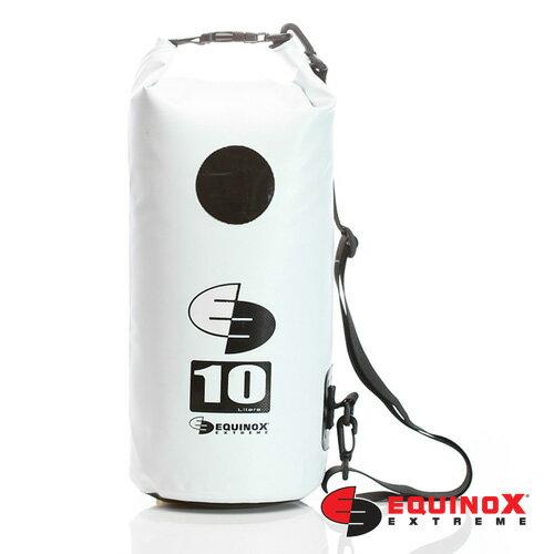 【露營趣】EQUINOX 多功能100 防水袋 10公升 逃難 溯溪 巴里島 浮潛 海釣 游泳 衝浪 側背 防水袋 112002