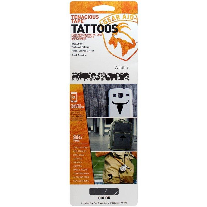 【露營趣】中和 McNett TATTOOS 10820 修補貼片 快樂露營者 帳篷 天幕 客廳帳 雨衣 外套 修補