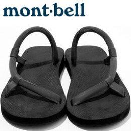 Mont Bell 系圓織帶休閒拖鞋 戶外涼鞋 Sock