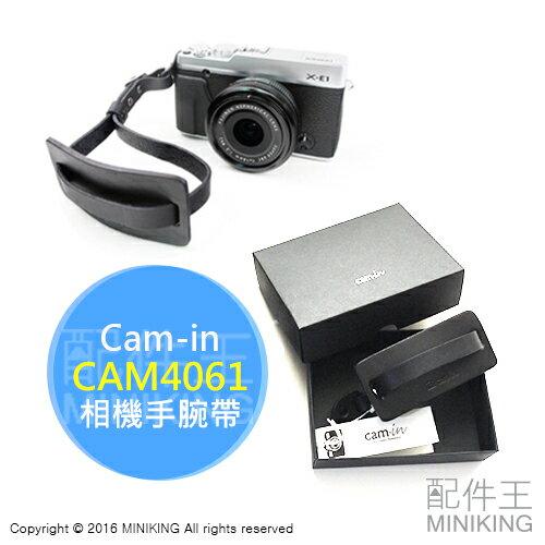 ~ 王~ Cam~in CAM4061 黑 真皮手腕帶 款 小牛皮 單眼 微單 類單 適X