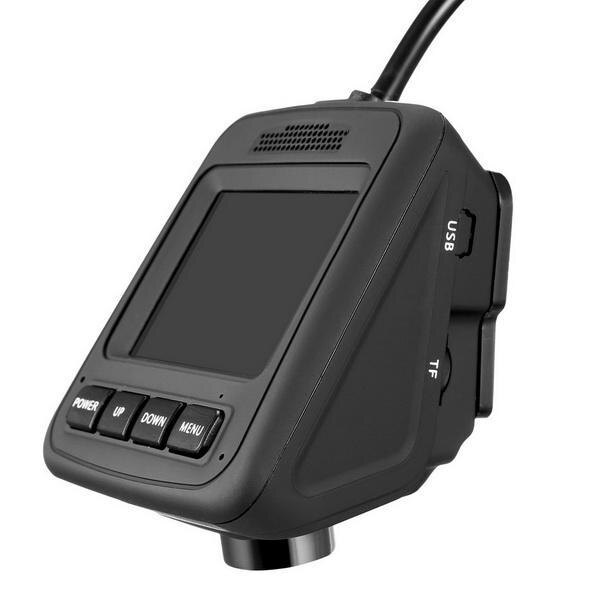 HD Wifi Dash Cam Dual Camera Dashcam 170 Angle Car Dash Camera Driving Recorder with Loop Recording G-Sensor 0