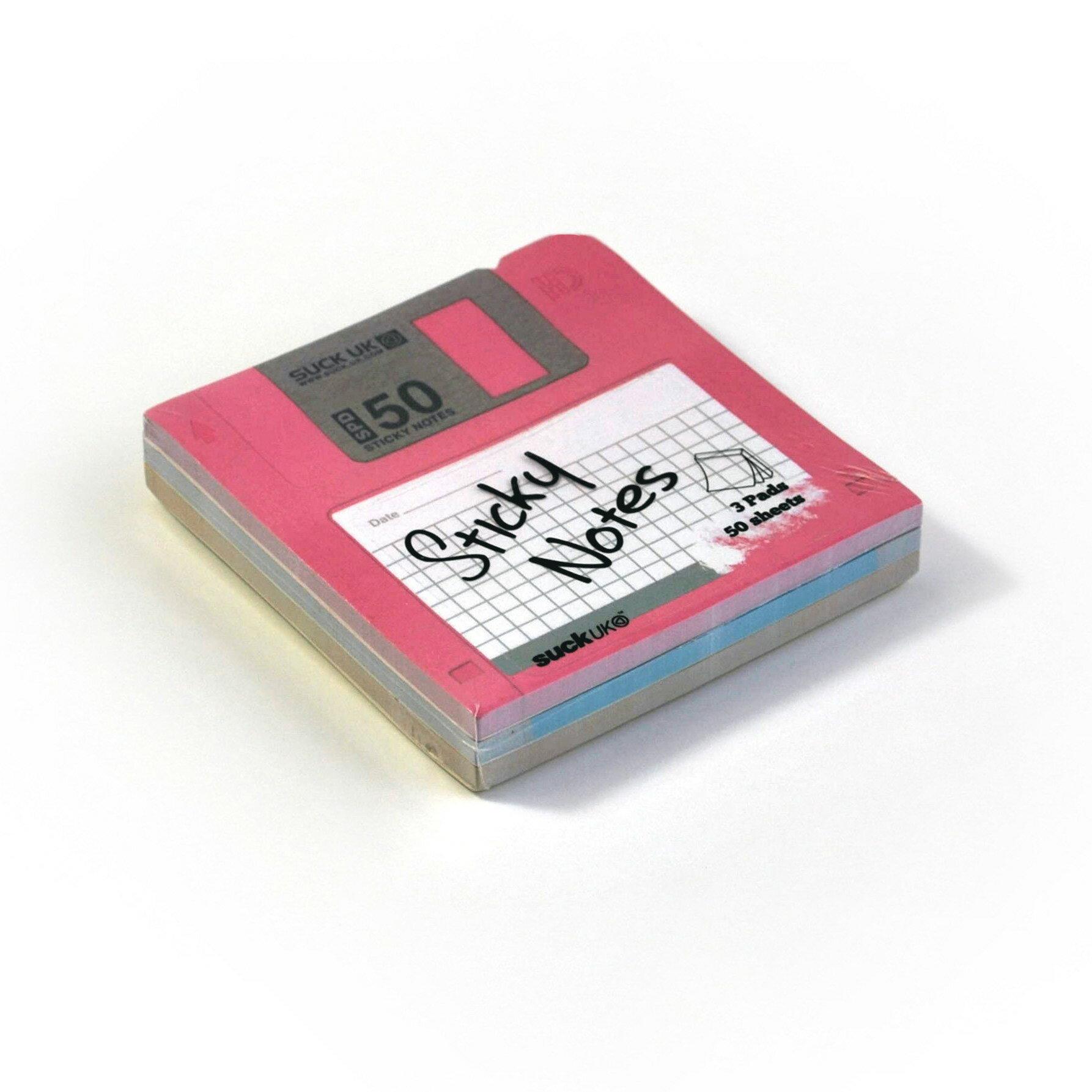 Suck UK~B槽磁碟片 便條紙~ ~  好康折扣