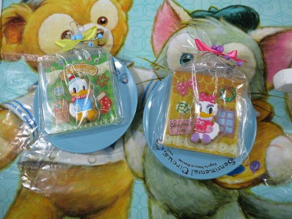 駱駝熊 東京海洋迪士尼2014聖誕節唐老鴨磁鐵組(2入)