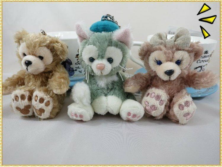 駱駝熊 東京海洋迪士尼DUFFY達菲系列坐姿吊飾