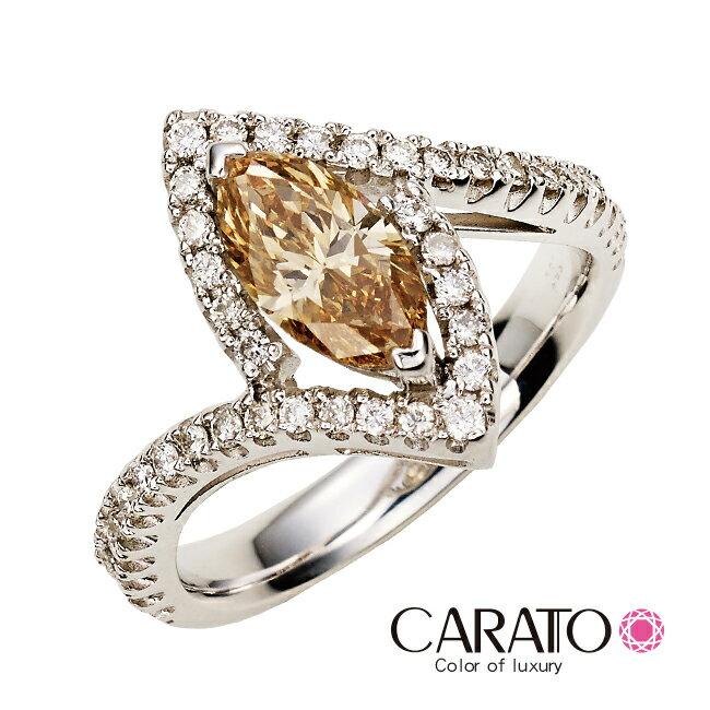 【CARATO】Shine-克拉多-精選彩鑽戒指