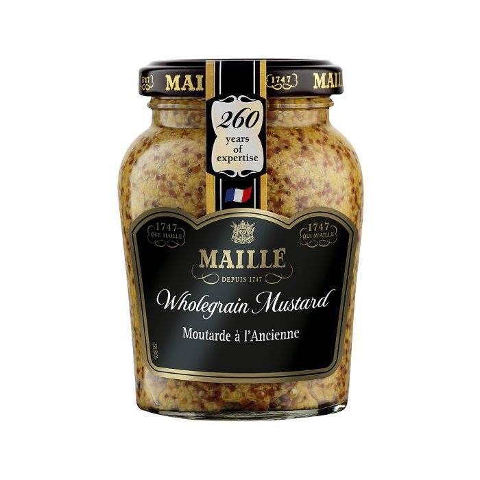 法國MAILLE魅雅狄戎Dijon芥末籽醬 210g/瓶★全店超取滿599免運