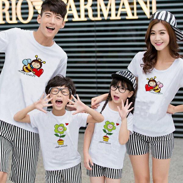 ◆ 出貨◆ 親子裝.客製化.T恤.班服. 親子裝. 款.純棉短T.MIT 製.班服.蜜蜂灌