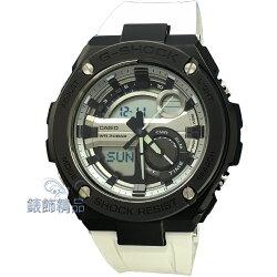 【錶飾精品】現貨CASIO卡西歐G-SHOCK分層防護構造 GST-210B-7ADR 白膠帶 運動男錶 全新正品