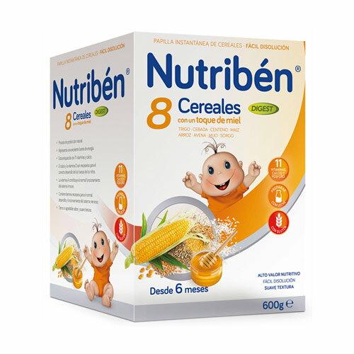 Nutriben 貝康8種穀類+果寡糖麥精600g【悅兒園婦幼生活館】 0