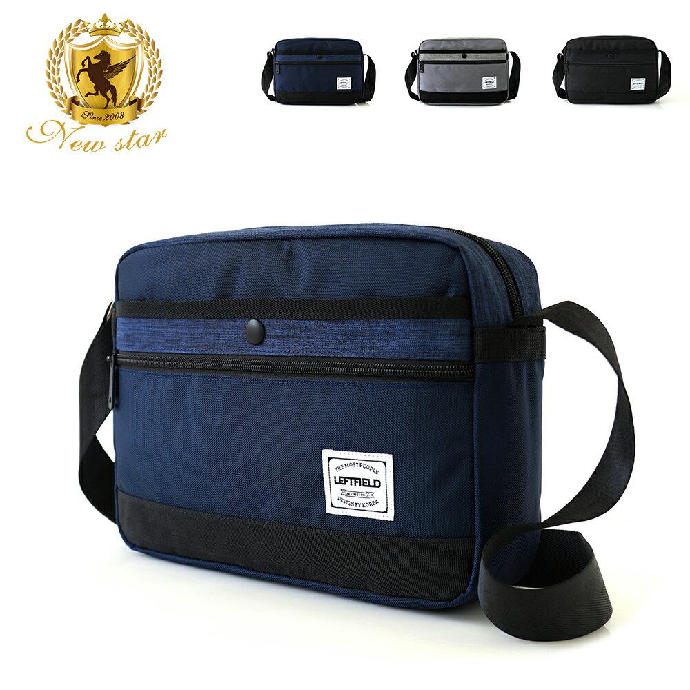 側背包 時尚拼接防水前口袋斜背包包 porter風 NEW STAR BL135 1