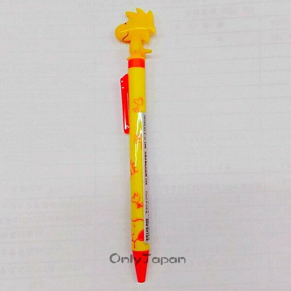 【真愛日本】18012700042日本製側壓原子筆-塔克鳥揮翅史努比snoopy史奴比日用品原子筆書寫用具