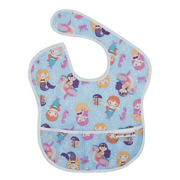 Baby City 防水圍兜-紫色美人魚(6-24個月)【悅兒園婦幼生活館】