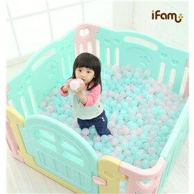 韓國【Ifam】 BaBy Room 遊戲圍欄 (粉色) 1