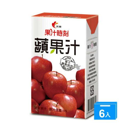 <br/><br/>  光泉果汁時刻-蘋果汁250ml*6入/組【愛買】<br/><br/>