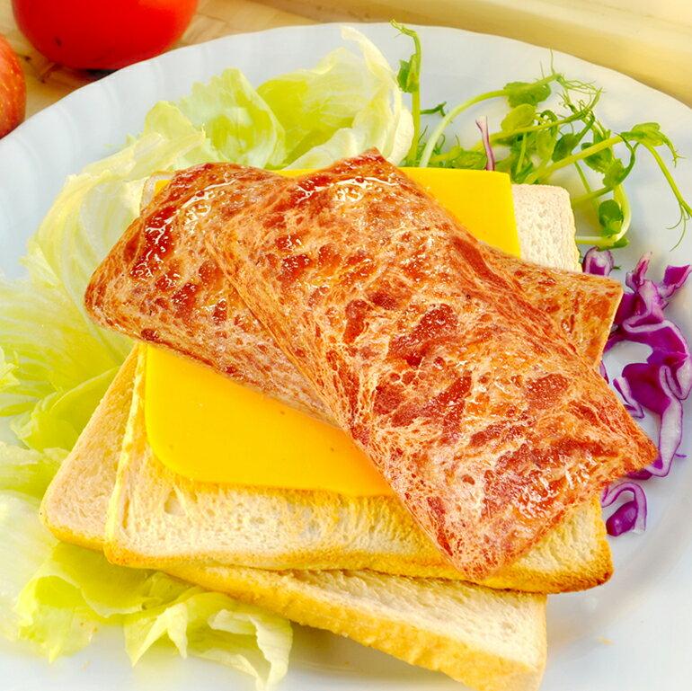 純素培根片600g ★愛家純淨素食 薄切片 素漢堡排 安心素料 全素美食 Vegan 0