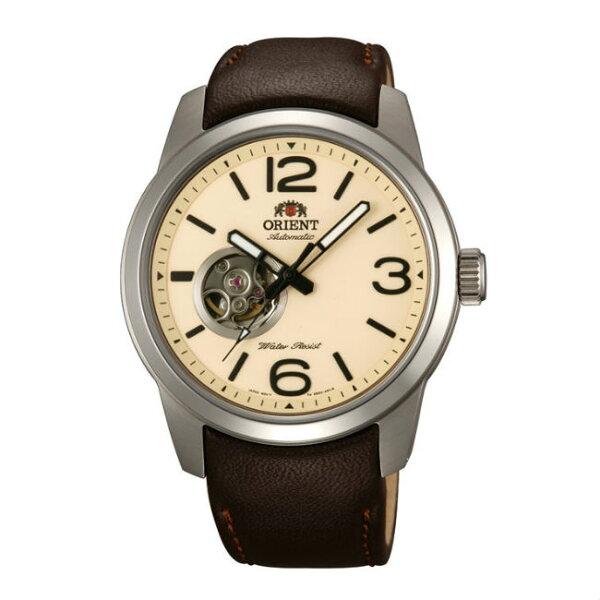 ORIENT東方錶SEMI-SKELETON系列(FDB0C005Y)運動型半鏤空機械錶皮帶款42.5mm