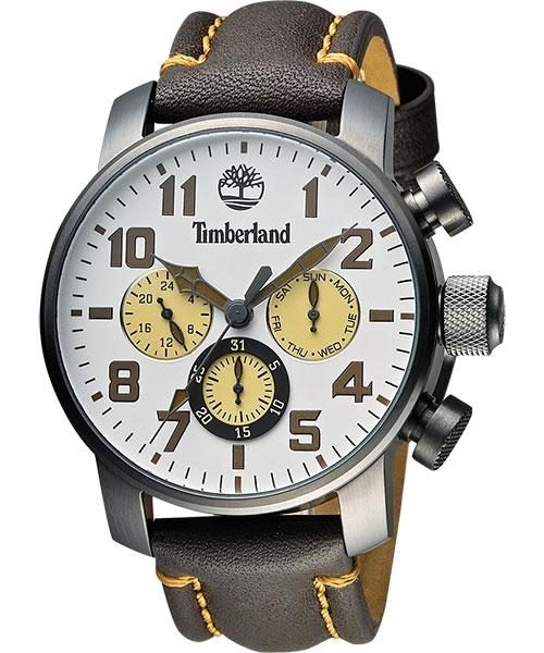 Timberland 天柏嵐 TBL.14439JSU/07大尺寸運動感計時腕錶/白面45mm