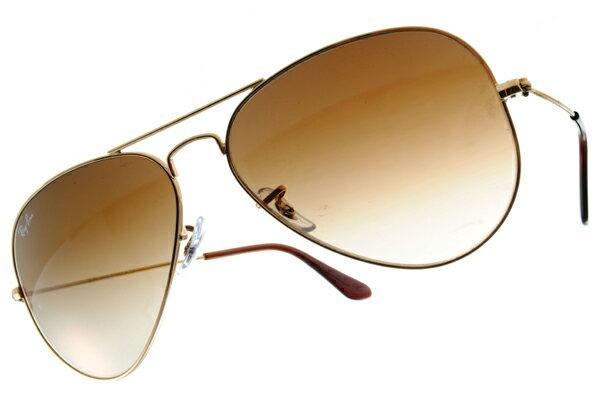 Ray Ban 雷朋 金邊棕鏡 太陽眼鏡 RB3025 0