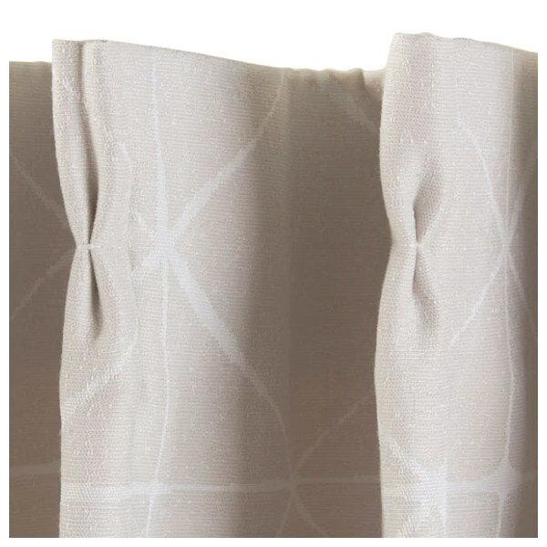 遮光隔熱窗簾 CROSS IV 150×178×1 NITORI宜得利家居 4
