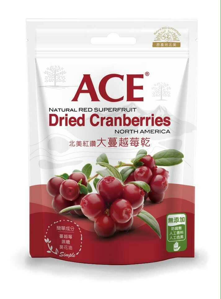 宜果~ACE北美紅鑽大蔓越莓乾180公克/包~買1送1~特惠中~★全店滿499免運
