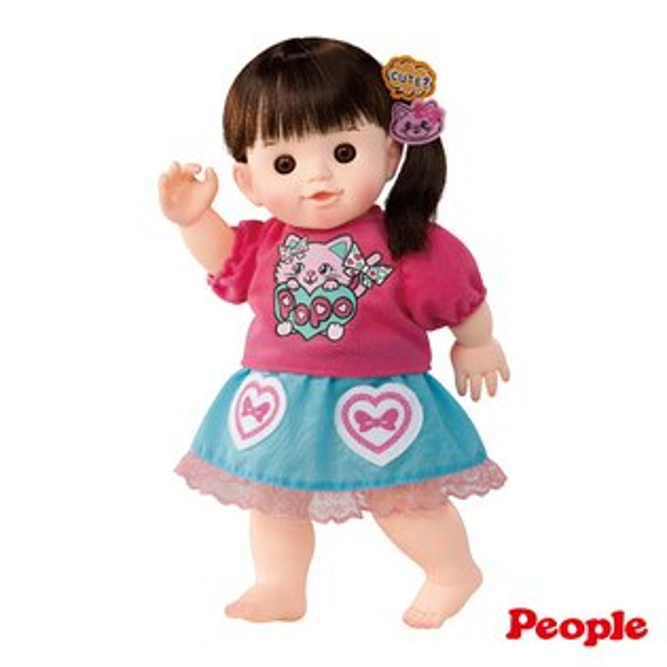 【奇買親子購物網】POPO-CHAN洋娃娃系列-可愛貓長髮泡澡POPO-CHAN(並非柔軟肌膚)