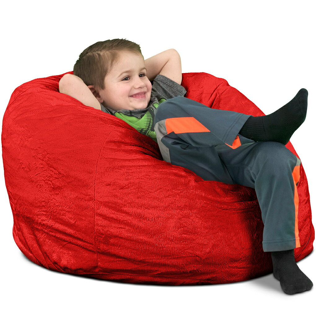 Brilliant Ultimate Sack Kids Bean Bag Chairs In Multiple Materials And Colors Giant Foam Filled Furniture Machine Washable Covers Double Stitched Seams Andrewgaddart Wooden Chair Designs For Living Room Andrewgaddartcom