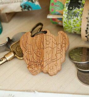 幸福森林:金牛座女孩-鑰匙圈